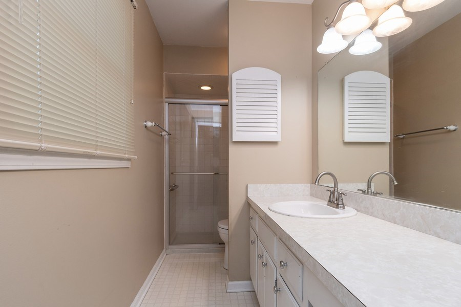 Real Estate Photography - 908 Royal St George, Naperville, IL, 60564 - Master Bathroom