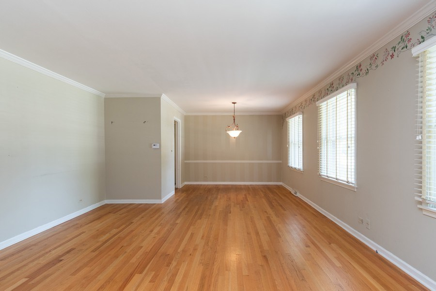 Real Estate Photography - 908 Royal St George, Naperville, IL, 60564 - Living Room / Dining Room