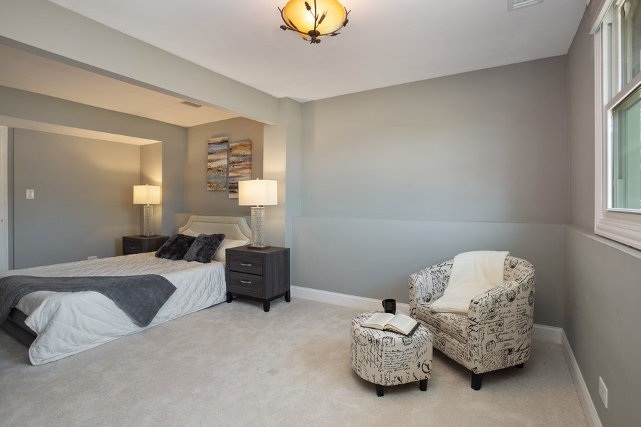Real Estate Photography - 281 Byron Ave, Bloomingdale, IL, 60108 - Master Bedroom