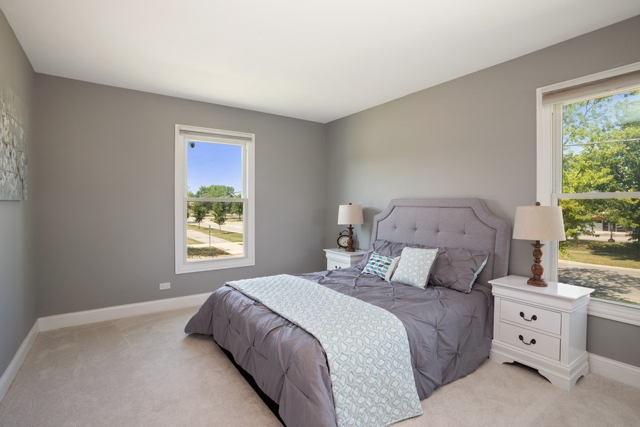 Real Estate Photography - 281 Byron Ave, Bloomingdale, IL, 60108 - Bedroom