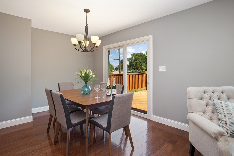 Real Estate Photography - 281 Byron Ave, Bloomingdale, IL, 60108 - Dining Room