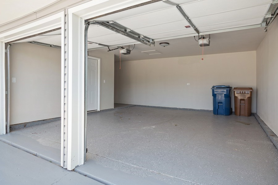 Real Estate Photography - 281 Byron Ave, Bloomingdale, IL, 60108 - Garage