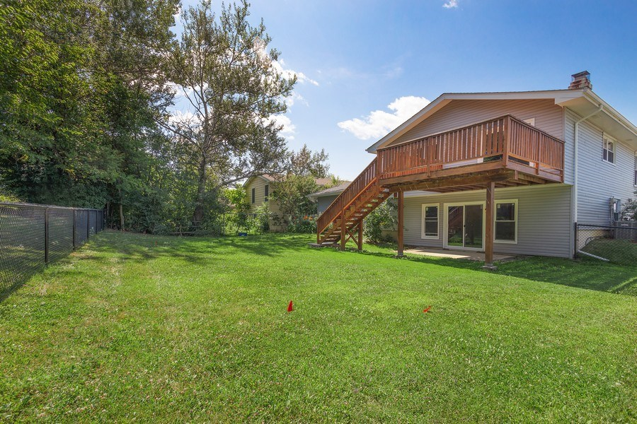 Real Estate Photography - 281 Byron Ave, Bloomingdale, IL, 60108 - Rear View
