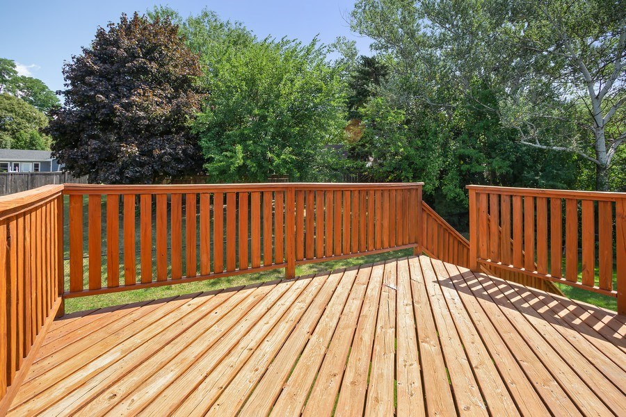 Real Estate Photography - 281 Byron Ave, Bloomingdale, IL, 60108 - Deck