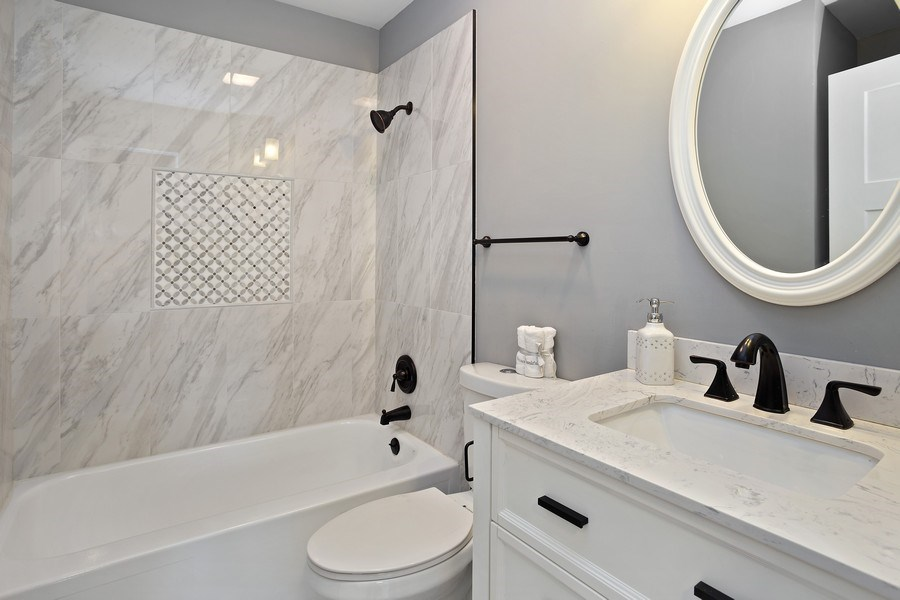 Real Estate Photography - 281 Byron Ave, Bloomingdale, IL, 60108 - Bathroom
