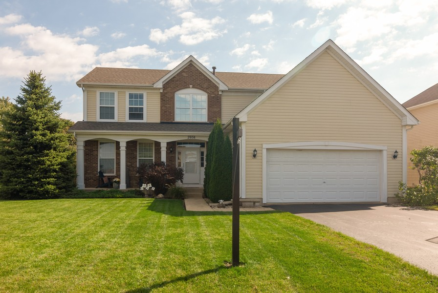Real Estate Photography - 2958 Ellsworth Dr, Yorkville, IL, 60560 - Front View