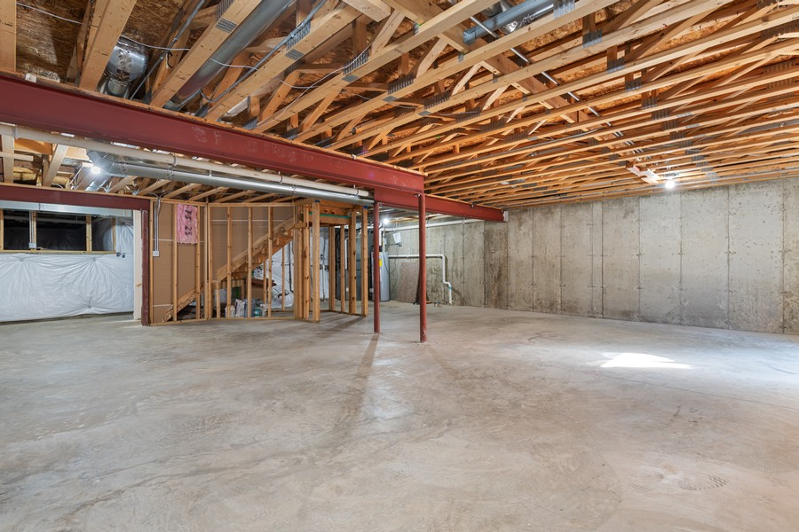 Real Estate Photography - 2720 Blakely Lane, Naperville, IL, 60540 - Basement