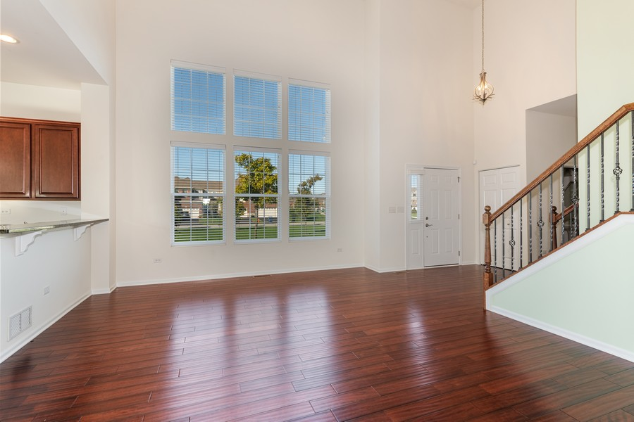 Real Estate Photography - 2720 Blakely Lane, Naperville, IL, 60540 - Family Room