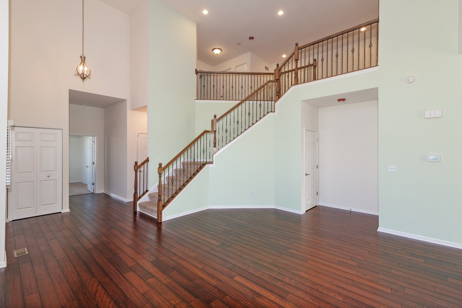 Real Estate Photography - 2720 Blakely Lane, Naperville, IL, 60540 - Staircase