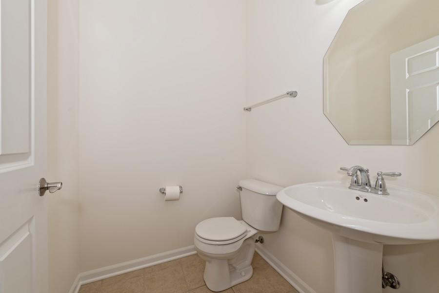 Real Estate Photography - 2720 Blakely Lane, Naperville, IL, 60540 - Half Bath