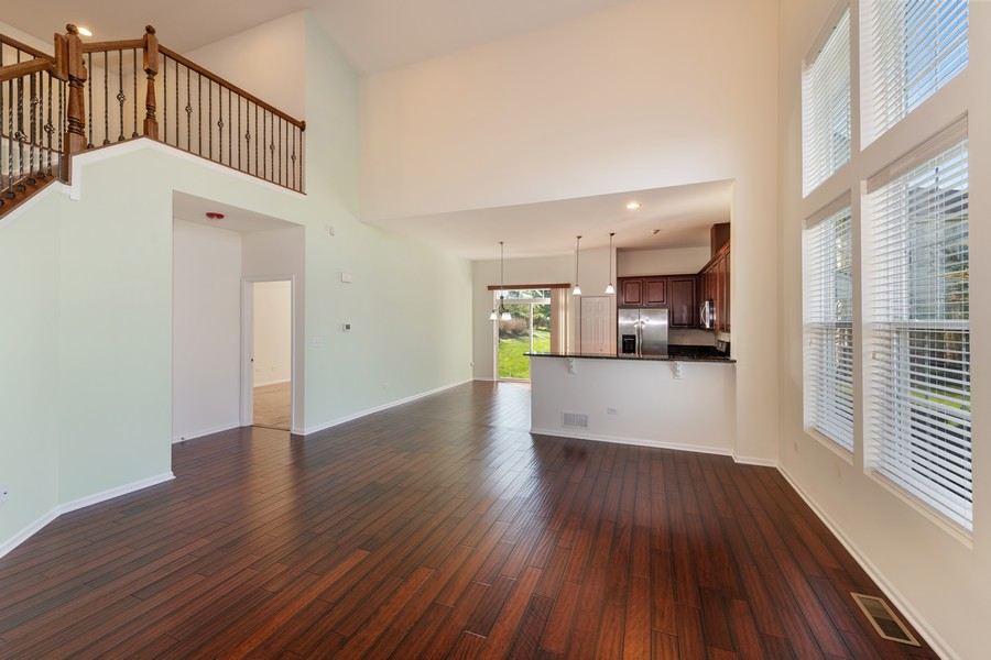 Real Estate Photography - 2720 Blakely Lane, Naperville, IL, 60540 - Family Room / Dining Room