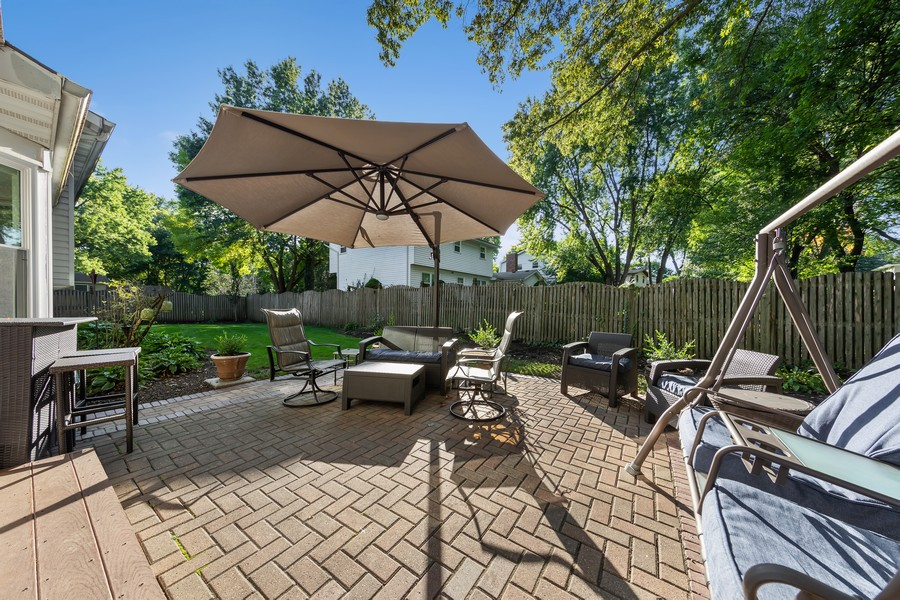 Real Estate Photography - 1753 Kildeer Dr, Naperville, IL, 60565 - Patio