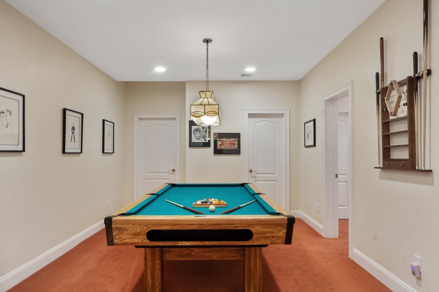 Real Estate Photography - 1048 Gambelli Dr, Yorktown Heights, NY, 10598 - Billiard Room