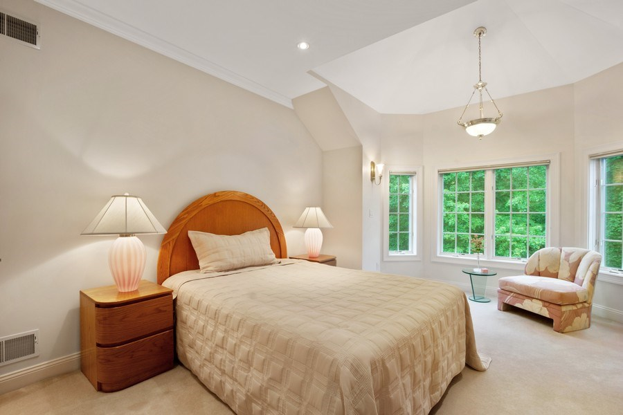 Real Estate Photography - 1048 Gambelli Dr, Yorktown Heights, NY, 10598 - Princess Bedroom with en suite full bath