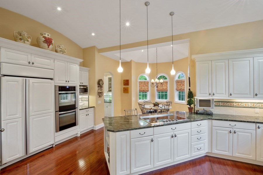 Real Estate Photography - 1048 Gambelli Dr, Yorktown Heights, NY, 10598 - Kitchen looking over peninsula into breakfast nook