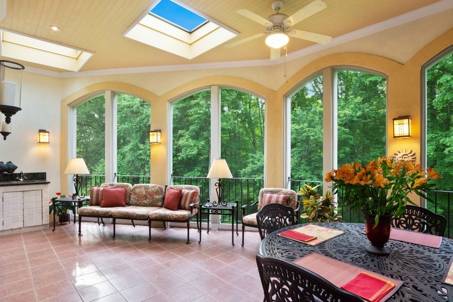 Real Estate Photography - 1048 Gambelli Dr, Yorktown Heights, NY, 10598 - Screened-in Veranda