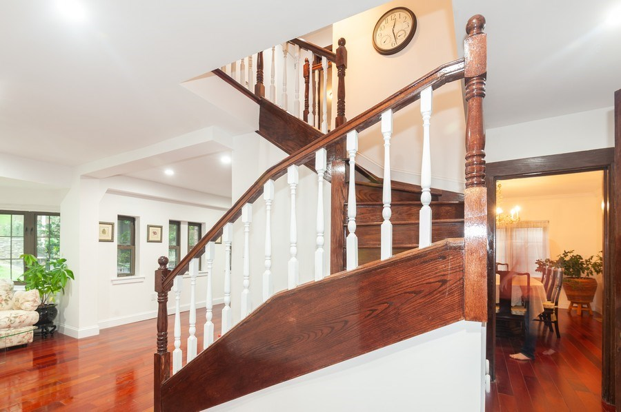 Real Estate Photography - 25 Hunter Ave, New Rochelle, NY, 10801 - Staircase