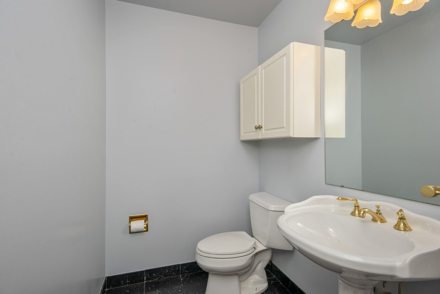 Real Estate Photography - 12 Abbey Dr, White Plains, NY, 10604 - Powder Room