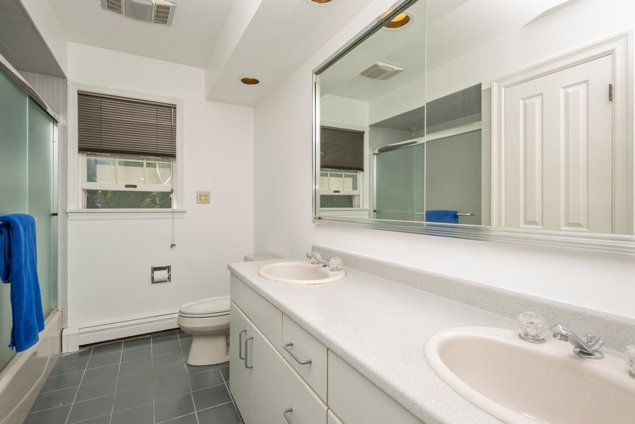 Real Estate Photography - 12 Abbey Dr, White Plains, NY, 10604 - 2nd Bathroom