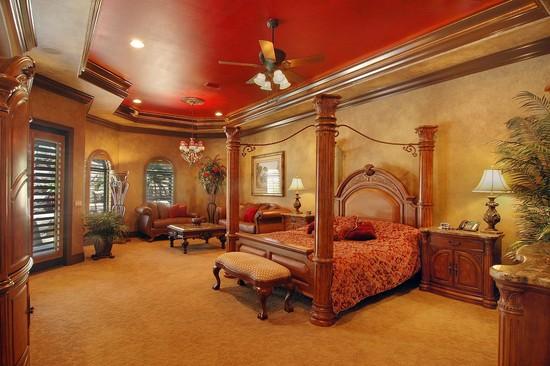 Real Estate Photography - 3755 Mullenhurst Dr, Palm Harbor, FL, 34685 - Romantic 1st floor Master Suite