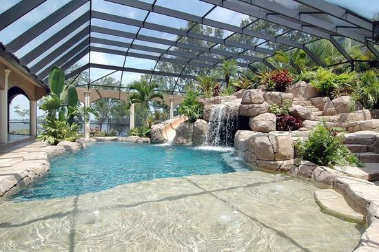 Real Estate Photography - 3755 Mullenhurst Dr, Palm Harbor, FL, 34685 - Pool Envy