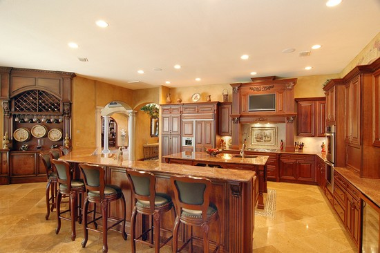 Real Estate Photography - 3755 Mullenhurst Dr, Palm Harbor, FL, 34685 - A Gourmet Kitchen for the passionate Chef