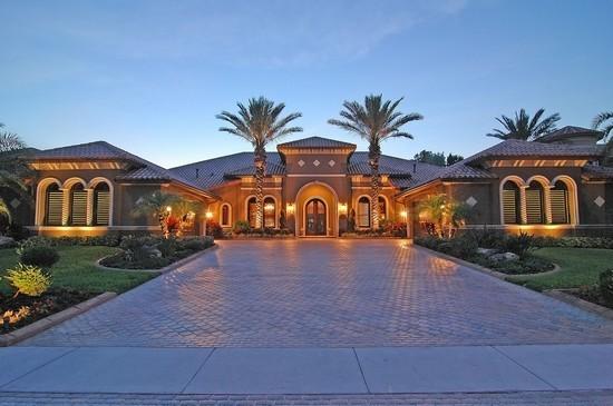 Real Estate Photography - 3755 Mullenhurst Dr, Palm Harbor, FL, 34685 - Exquisite Mediterranean Waterfront Estate