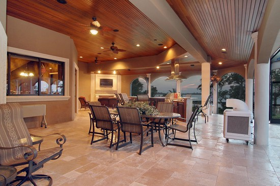 Real Estate Photography - 3755 Mullenhurst Dr, Palm Harbor, FL, 34685 - Entertain your guests in STYLE