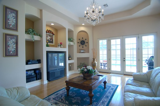 Real Estate Photography - 1638 Whitney Isles, Windermere, FL, 34786 - Living Room