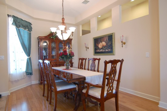 Real Estate Photography - 1638 Whitney Isles, Windermere, FL, 34786 - Dining Room