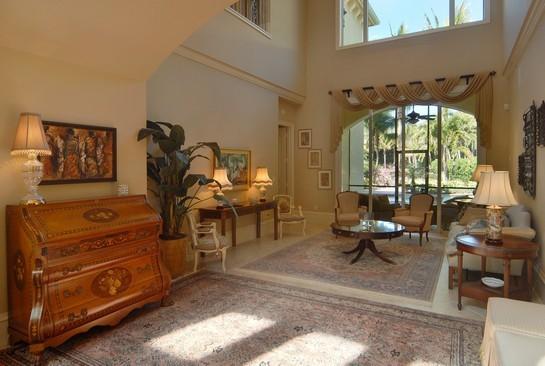 Real Estate Photography - 2828 Capistrano Way, Naples, FL, 34105 - Living Room
