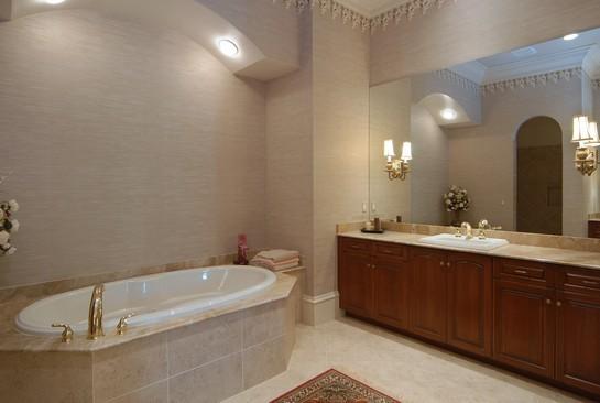 Real Estate Photography - 2828 Capistrano Way, Naples, FL, 34105 - Master Bathroom