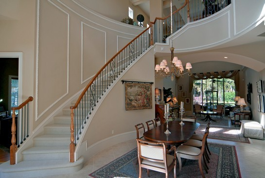 Real Estate Photography - 2828 Capistrano Way, Naples, FL, 34105 - Dining Room