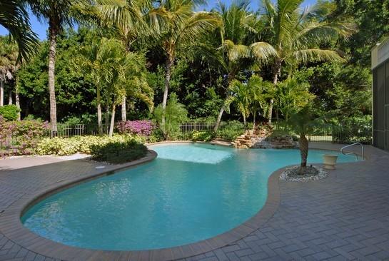 Real Estate Photography - 2828 Capistrano Way, Naples, FL, 34105 - Pool