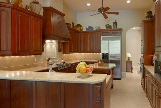 Real Estate Photography - 2828 Capistrano Way, Naples, FL, 34105 - Kitchen