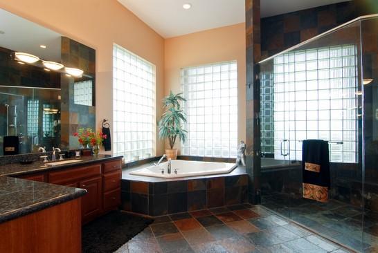Real Estate Photography - 15540 Sunward St, Wellington, FL, 33414 - Master Bathroom