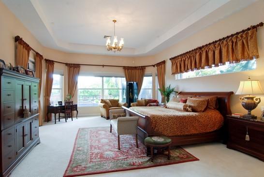 Real Estate Photography - 15540 Sunward St, Wellington, FL, 33414 - Master Bedroom