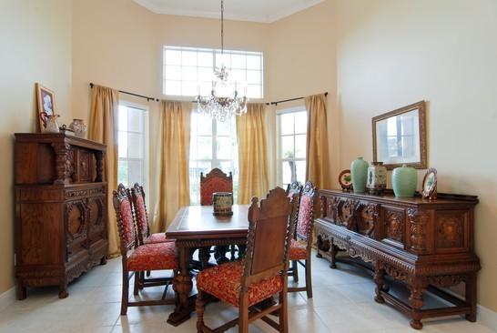 Real Estate Photography - 15540 Sunward St, Wellington, FL, 33414 - Dining Room