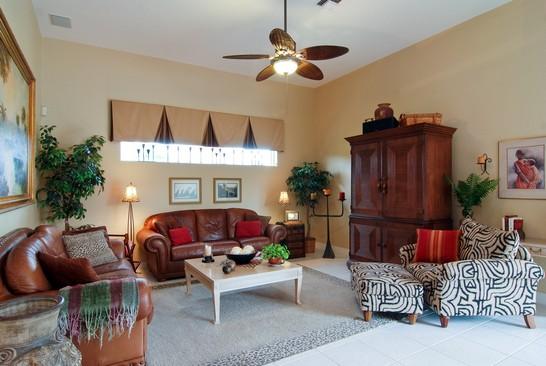 Real Estate Photography - 15540 Sunward St, Wellington, FL, 33414 - Family Room