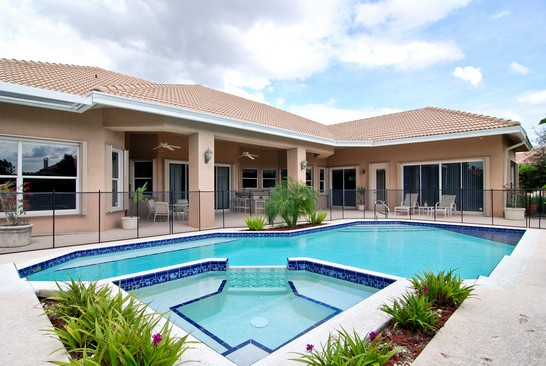 Real Estate Photography - 15540 Sunward St, Wellington, FL, 33414 - Rear View