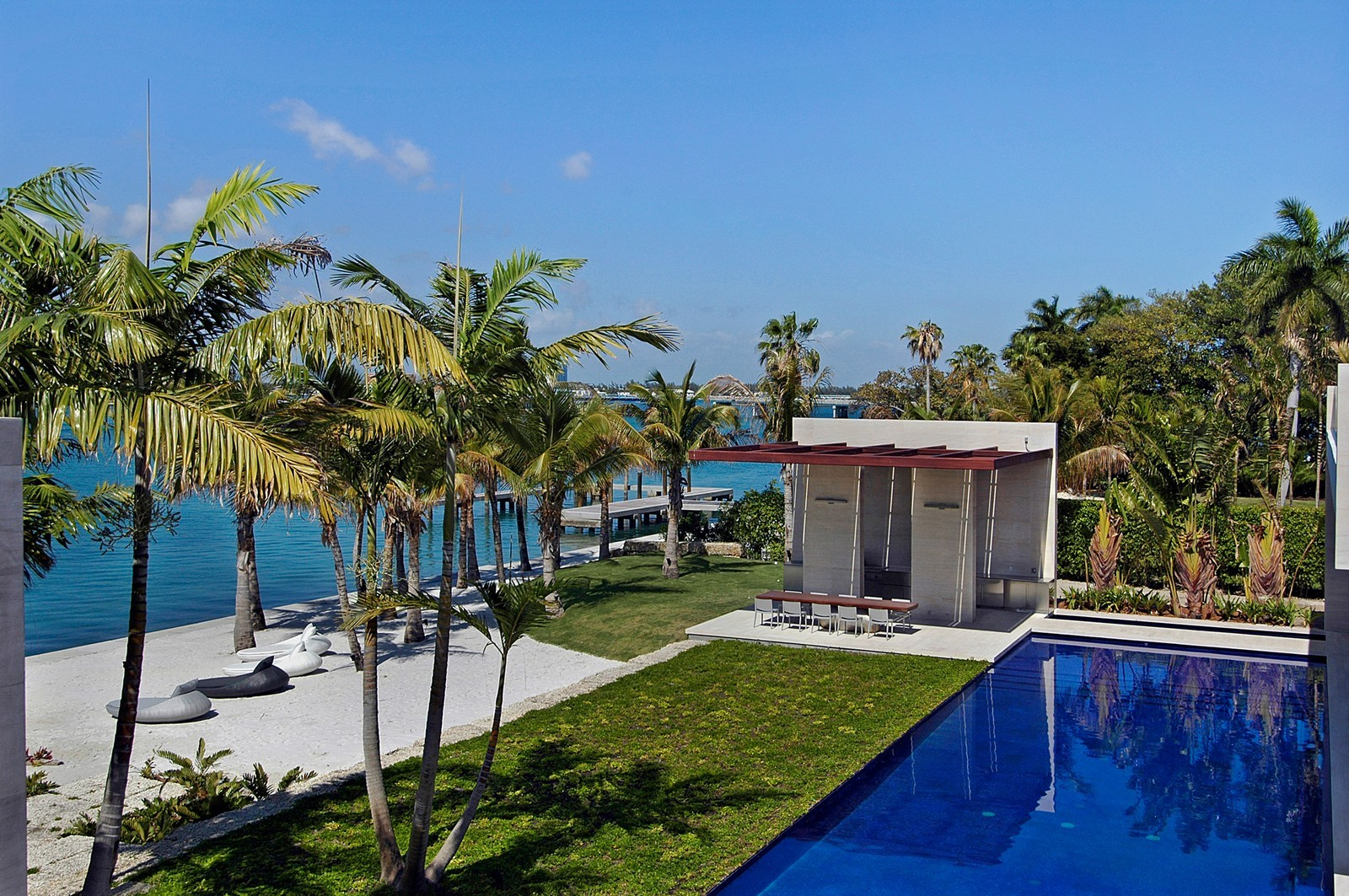 Real Estate Photography - 3 Indian Creek Island Dr, Miami Beach, FL, 33154 - View