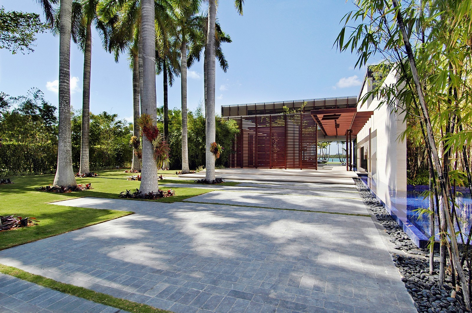 Real Estate Photography - 3 Indian Creek Island Dr, Miami Beach, FL, 33154 - Front View