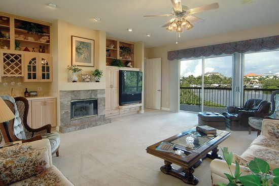 Real Estate Photography - 211 Bayfront Drive, Bonita Springs, FL, 34134 - Living Room