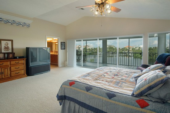 Real Estate Photography - 211 Bayfront Drive, Bonita Springs, FL, 34134 - Master Bedroom
