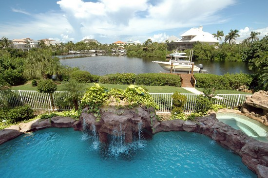 Real Estate Photography - 211 Bayfront Drive, Bonita Springs, FL, 34134 - Pool