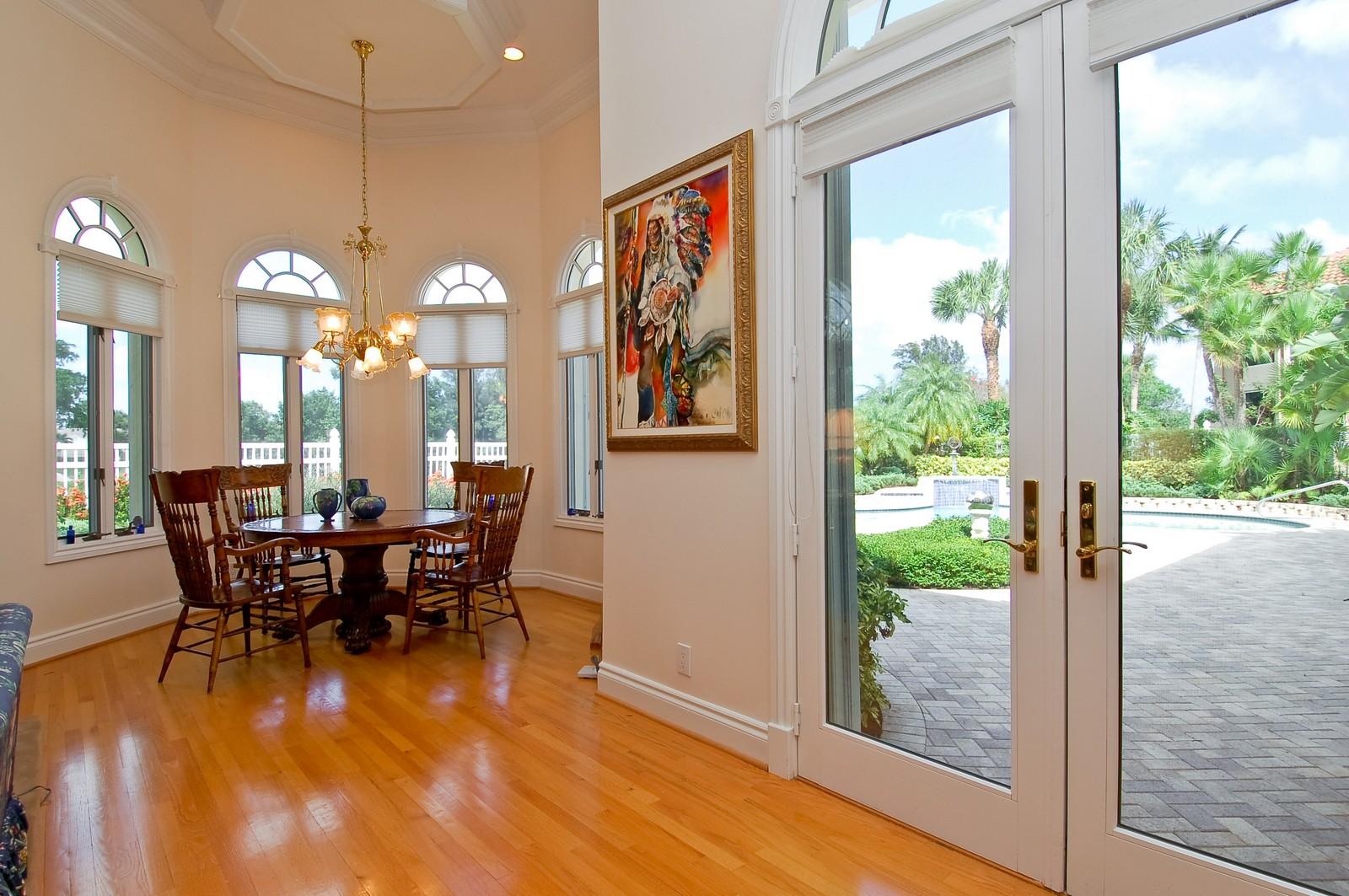 Real Estate Photography - 4252 Bocaire Blvd, Boca Raton, FL, 33487 - Breakfast Area