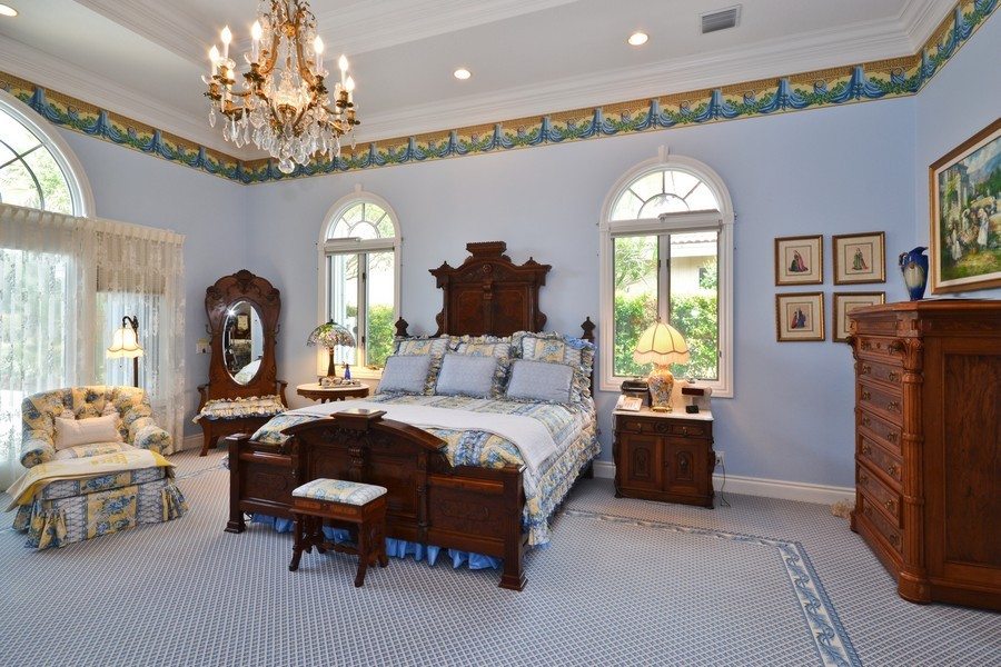 Real Estate Photography - 4252 Bocaire Blvd, Boca Raton, FL, 33487 - Master Bedroom