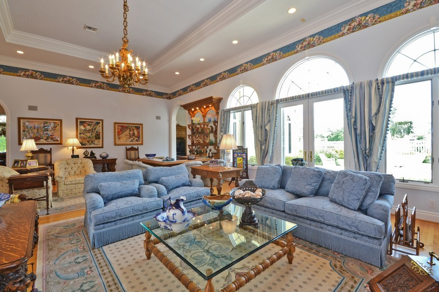 Real Estate Photography - 4252 Bocaire Blvd, Boca Raton, FL, 33487 - Living Room