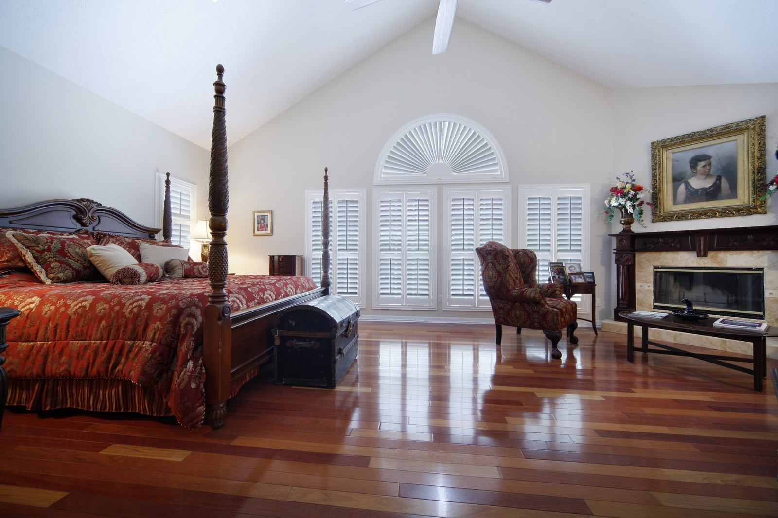 Real Estate Photography - 18750 Wimbledon Cir, Lutz, FL, 33558 - Master Bedroom