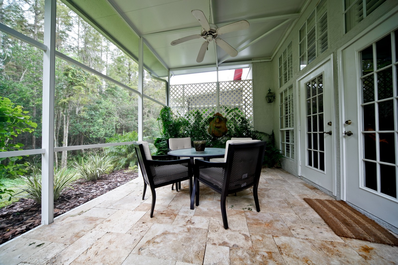 Real Estate Photography - 18750 Wimbledon Cir, Lutz, FL, 33558 - Porch